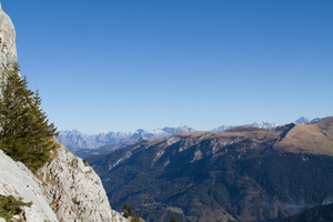 Dans les Alpes